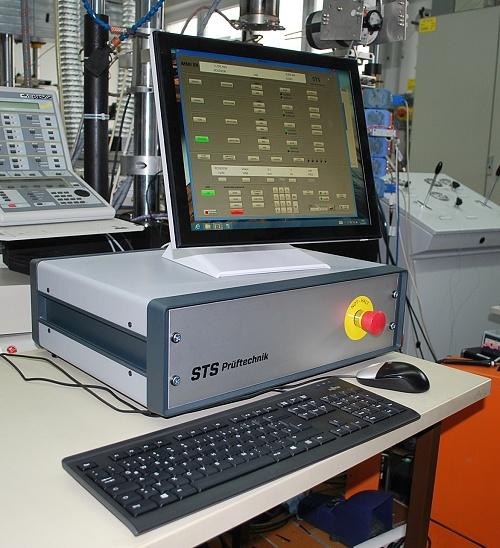 Steuerung für Prüfmascinen und Einzelzylinder STS MMI 8X