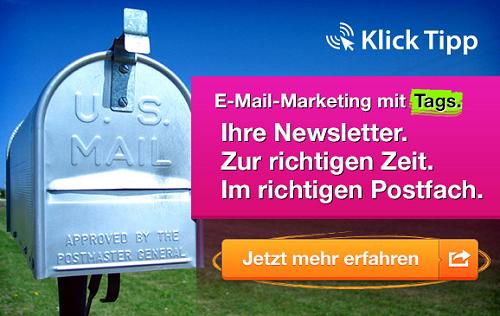 E-Mail-Marketing mit Klick-Tipp effektiv neue Kunden anwerben und gewinnen