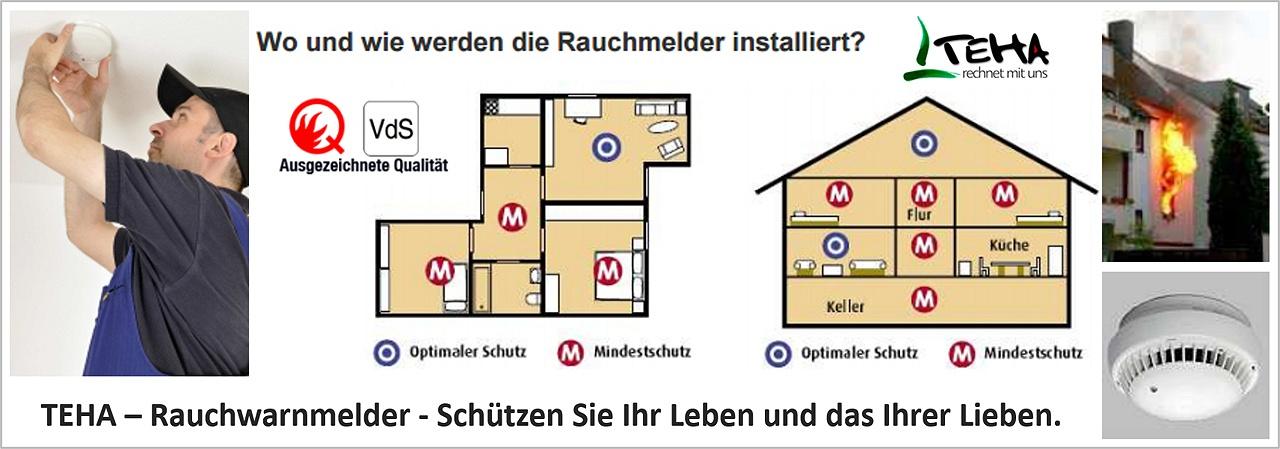 Rauchmelderpflicht München, Rauchmelder, Rauchwarnmelder Frankfurt. Wo und wie werden die Rauchmelder installiert?