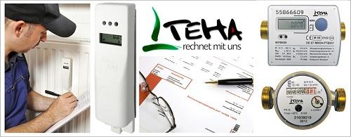 TEHA - Heizkostenverteiler München, Abrechnung Heizkosten Wärmezähler Augsburg, Preiswert und Korrekt