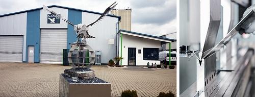 Kartal GmbH Blechbearbeitung Sinsheim, Kanten bzw. Abkanten, Werkstücke mit einer Länge von bis zu 3000 mm, Druckkraft maximal 130 t