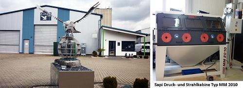 Glasperlenstrahlen von Edelstahl und Aluminium, Metallverarbeitung in höchster Qualität, Pforzheim, Karlsruhe