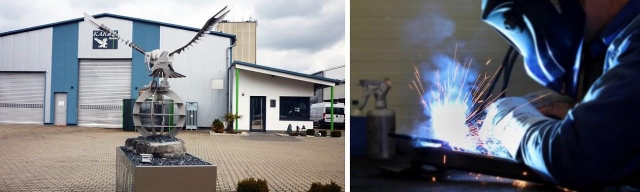 Kartal GmbH Schweißtechnik, wir schweißen alle Stahlsorten, Aluminium und Edelstahl - Schweißverfahren wie MIG/MAG, WIG, Karlsruhe