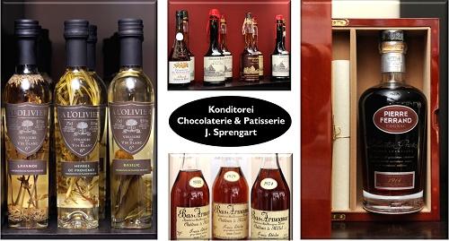 Cognac Pierre Ferrand, Calvados Chateau Breuil, Macarons, Bas- Armagnac, Cremant de Bourgogne, Berlin Mitte