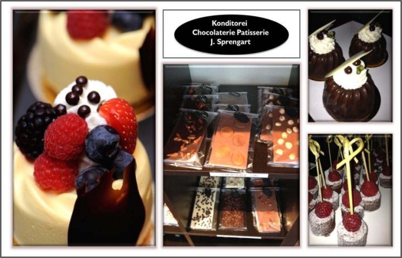 Schokoladen Valrhona, Schokoladentafeln personalisiert, Torten, Törtchen am neuen Berlin-Mitte Carre gegenüber Fernsehturm