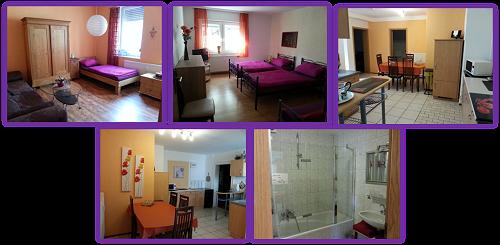 Günstig zu vermieten 2 Zimmer Ferienwohung-Nichtraucherwohnung, Küche und Bad in Carlsberg, Rheinland-Pfalz