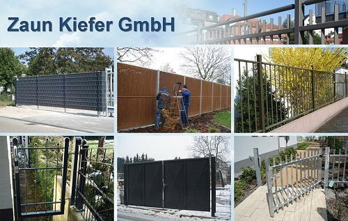 Zaun Kiefer Frontgitter Zäune, Pfostensysteme für Gittermatten, Maschendrahtzaun, Spezial-Zaunanlagen, Heidelberg, Schwetzingen