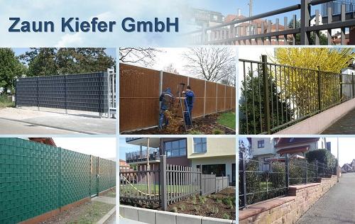 Montage Metallzaun Frontgitter, Tore, Pfosten Systeme Gittermatten, Sichtschutz, Sicherung Garten, Mosbach, Elztal
