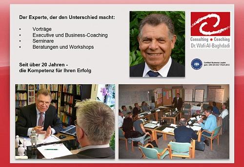 Dr. Wafi Al-Baghdadi, Köln-Bonn-Siegburg, Führungskräfte-Coaching, Executive Coaching