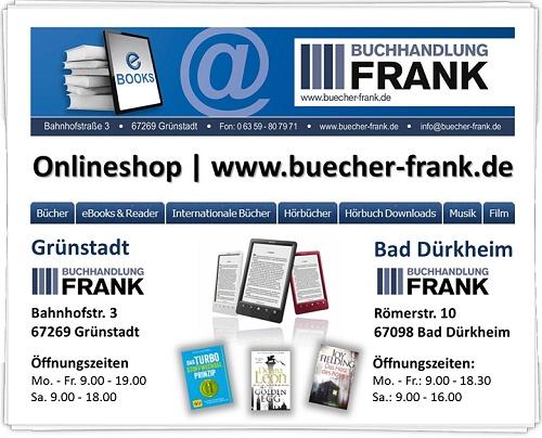 Buchhandlung und Shop Frank in Bad Dürkheim und Grünstadt
