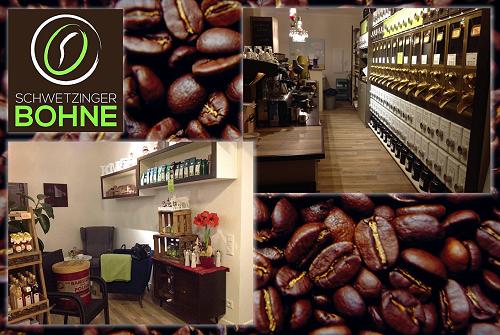 Cafè Schwetzinger Bohne - der gemütliche Treff für Kaffee- und Teeliebhaber