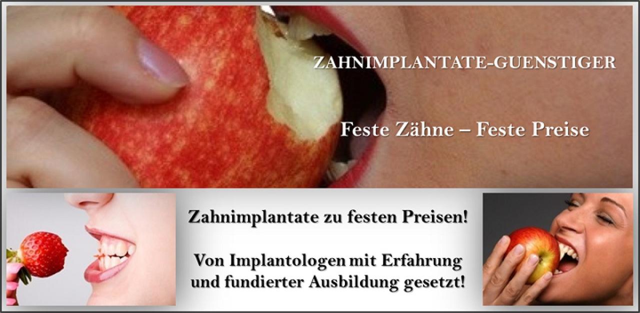 günstige Zahnimplantate und Zahnersatz, wie im Ausland