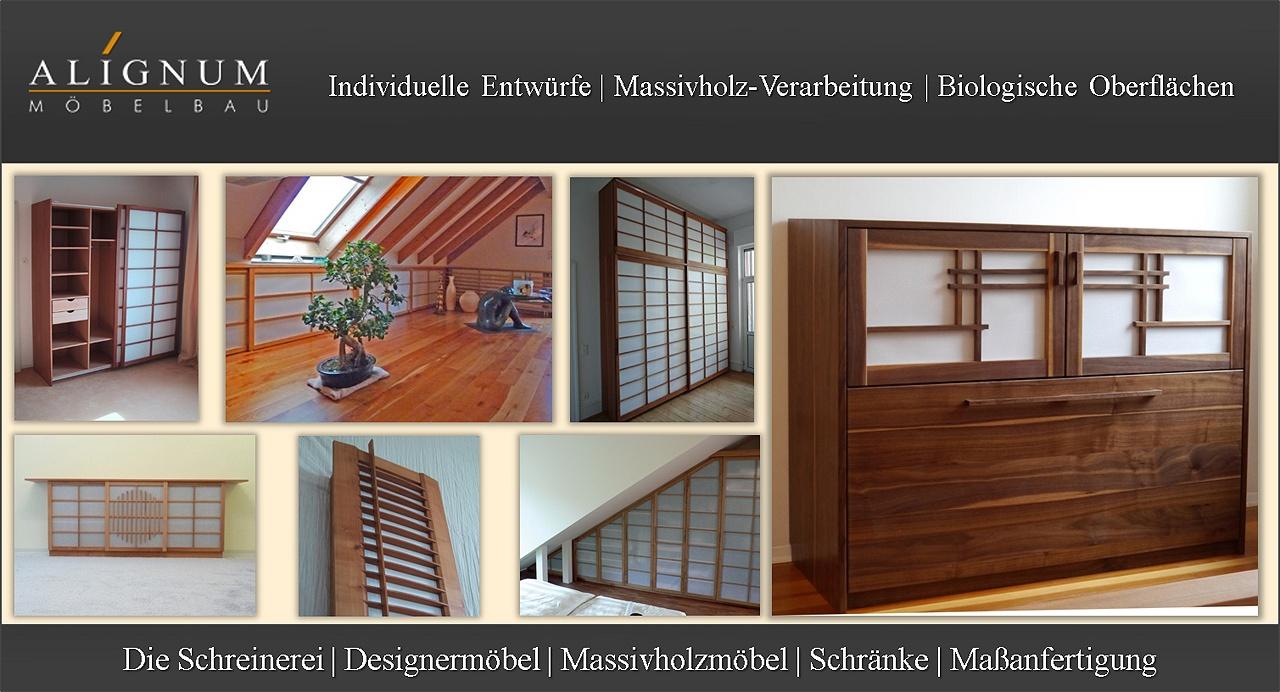 Shoji- Japanische Schiebelemente von ALIGNUM Möbelbau. Schreinerei aus Heidelberg Mannheim. Entwurf und Fertigung