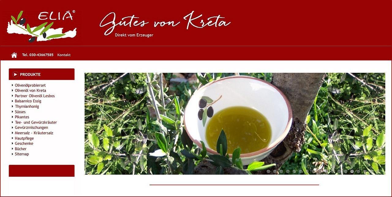 Testsieger 2016 Kolympari - Extra Natives Kreta Olivenöl und griechisches Olivenöl online kaufen