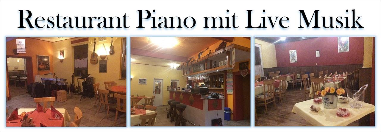 Restaurant Piano-Carlsberg mit Live Musik
