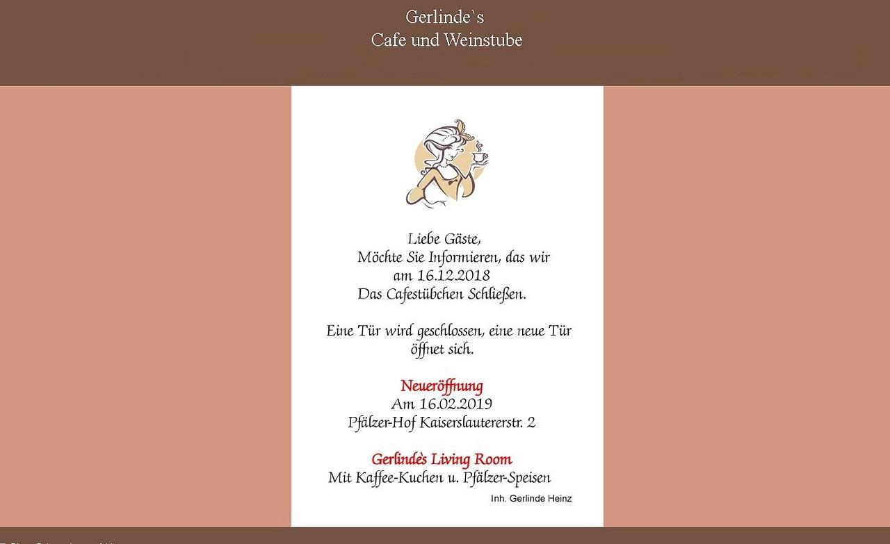 Gerlinde's Caféstübchen Bad Dürkheim