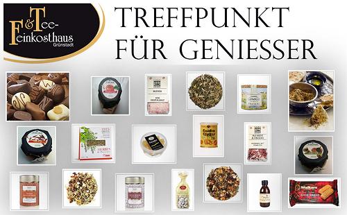 Tee & Feinkosthaus Grünstadt, Laden & Onlineshop für neuen Teesorten, Speziale Feinkost, Feinste Confiserie, Pralinen, Frankenthal, Bad Dürkheim