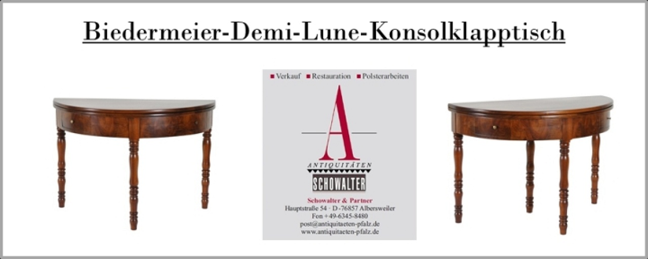 antiquit t biedermeier antik m bel tisch restauration reparatur eigene werkstatt pfalz. Black Bedroom Furniture Sets. Home Design Ideas