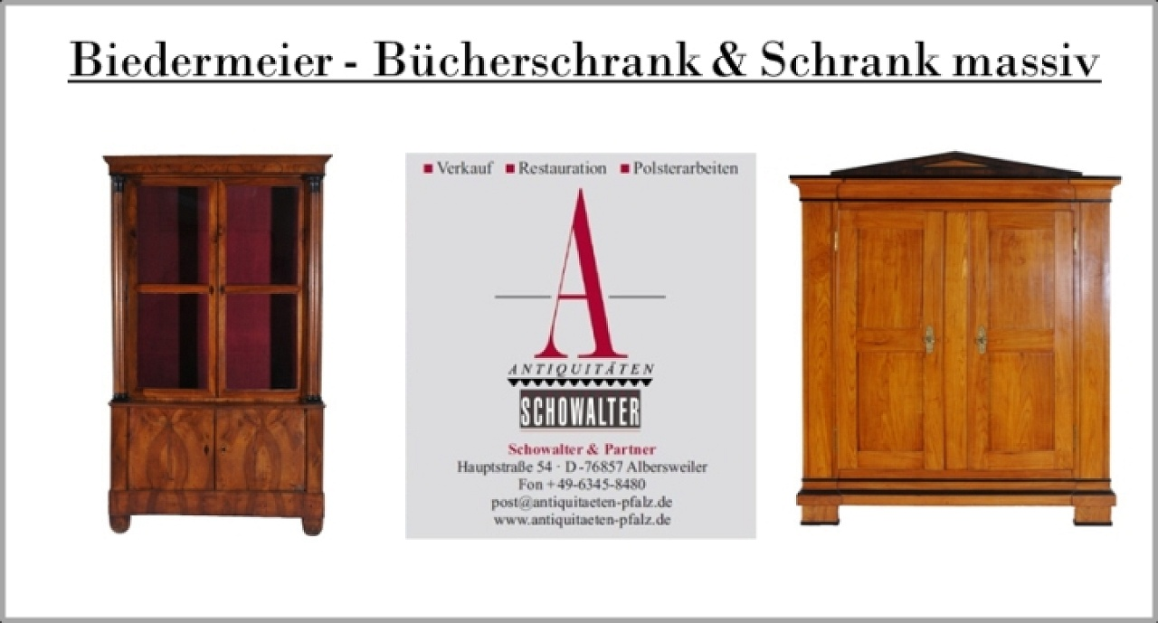 antiquit ten restaurieren pfalz antiker schrank. Black Bedroom Furniture Sets. Home Design Ideas