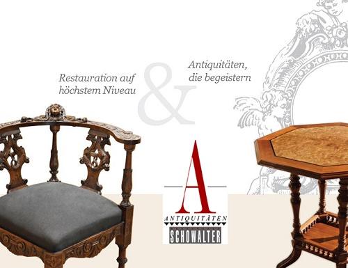 Restaurierte Antiquitäten auf höchstem Niveau