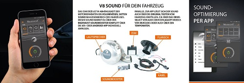Maxhaust Active Sound Einbau Vierheim, Mannheim, BMW, VW, Audi und Mercedes-Benz