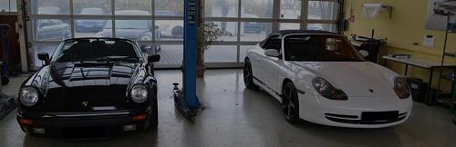 Porsche Inspektion, Revision Porsche-Motor, Wartung 911, 996, 997